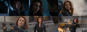 Scarlett Johansson-The Avengers Collages