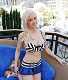 Holly Madison @ Portrait Shooting at Bacchus Pool in Las Vegas | June 5 | 3 pics
